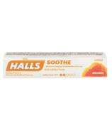 Halls Lozenges Soothe Honey