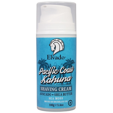 Elvado Pacific Coast Kahuna Shave Cream Pump