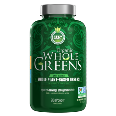 Ergogenics Organics Whole Plant-Based Greens Powder