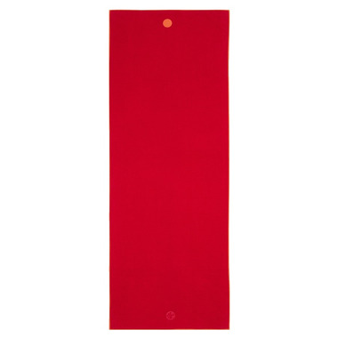 Manduka yogitoes Skidless Yoga Towel Chakra Red