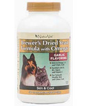 Naturvet Brewer's Dried Yeast Formula with Omegas Tablets
