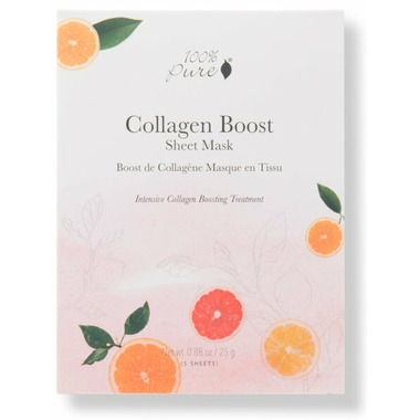 100% Pure Sheet Mask Collagen Boost Box