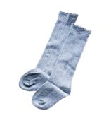 Mini Bretzel Classic Knee Socks Grey