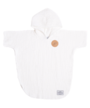 Tofino Towel Co. Pebble Kids Poncho Seashell White