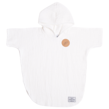 Tofino Towel Co. Pebble Kids Poncho Seashell White