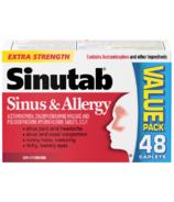 Sinutab Sinus & Allergie Extra Fort