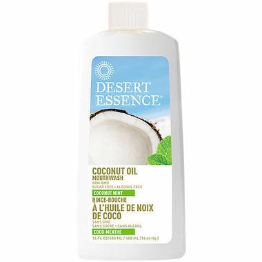 Desert Essence Coconut Oil Mouthwash