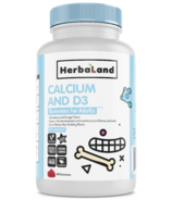 Herbaland Gummy for Adults Calcium with D3
