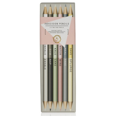 NPW We Live Like This Indecision 50/50 Metallic Pencils