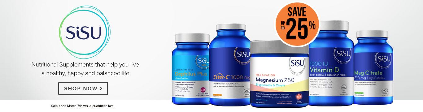 Save up to 25% on Sisu