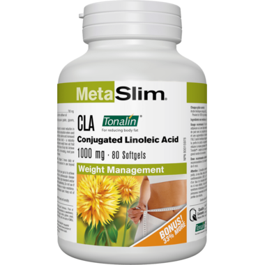 MetaSlim CLA Conjugated Linoleic Acid 1000mg
