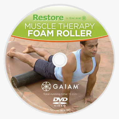 Restore by Gaiam Textured Foam Roller 12