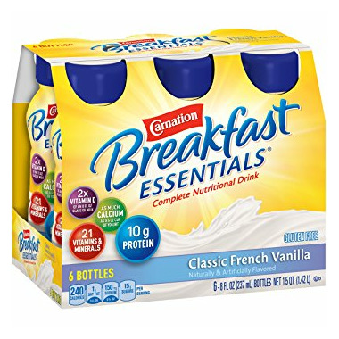 Carnation Breakfast Essentials Anytime Ready Drink