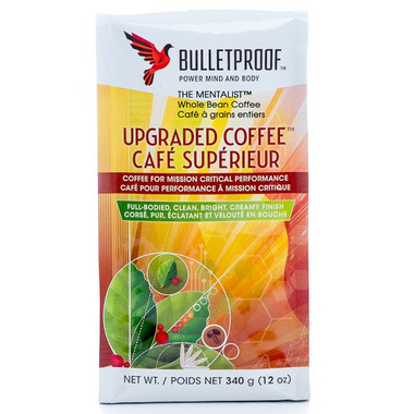 Bulletproof The Mentalist Whole Bean Upgraded Coffee