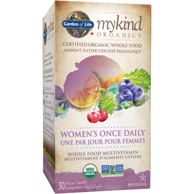 Garden of Life MyKind Organics Women\'s Once Daily Multivitamin