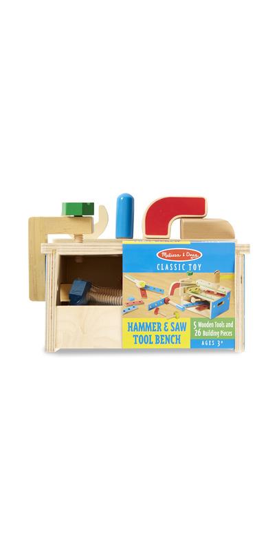 Buy Melissa Amp Doug Hammer Amp Saw Tool Bench At Well Ca