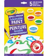 Crayola Spill Proof Washable Paint