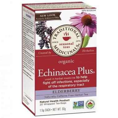 Traditional Medicinals Organic Echinacea Plus Elderberry Tea