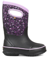 Bogs Classic Freckle Boots Flower Black Multi