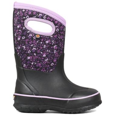 Bogs Classic Freckle Boots Flower Black Multi
