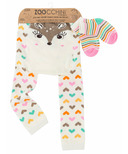 ZOOCCHINI Comfort Crawler Legging & Sock Set Fiona the Fawn