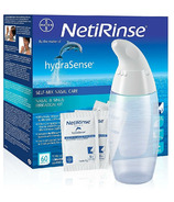 hydraSense NetiRinse 2-in-1 Self-Mix Nasal & Sinus Irrigation Kit