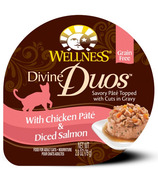Wellness Divine Duos Chicken Pate & Diced Salmon