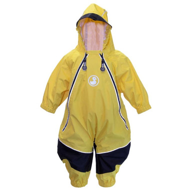 Calikids Waterproof Onesie Yellow
