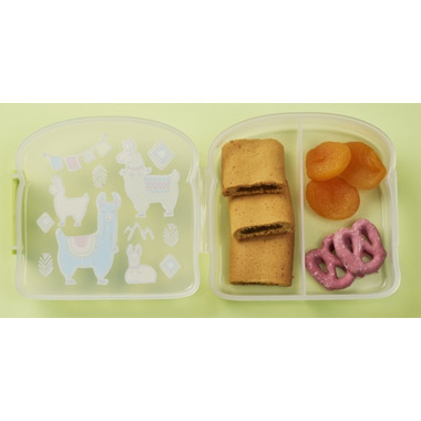 Sugarbooger Good Lunch Sandwich Box Llama