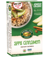 Nature's Path Organic Instant Oatmeal Apple Cinnamon