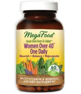 Une multivitamine par jour MegaFood pour femme de plus de 40 ans