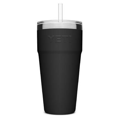 YETI Rambler Straw Cup Black