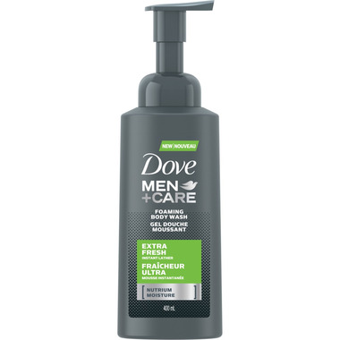Dove Men+Care Extra Fresh Foaming Body Wash