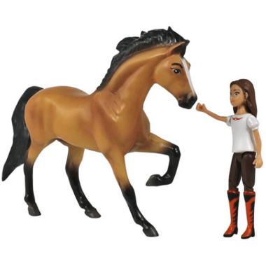 Breyer Horses Spirit Riding Free Spirit and Lucky Small Set