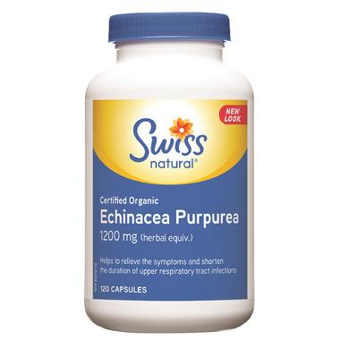 Swiss Natural Certified Organic Echinacea Purpurea