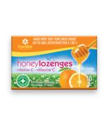 Honibe Honey Lozenges with Vitamin C & Orange