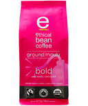 Ethical Bean Coffee Bold Dark Roast Ground Coffee