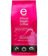 Ethical Bean Coffee Bold Dark Roast Ground Coffee