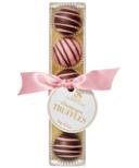 Saxon Chocolates Dark and Pink Chocolate Champagne Truffles