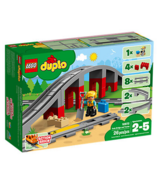 LEGO Duplo Train and Bridge Tracks