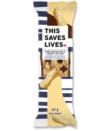 This Saves Lives Dark Chocolate & Peanut Butter Bar