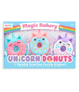 Gommes parfumées OOLY Magic Bakery Unicorn Donuts