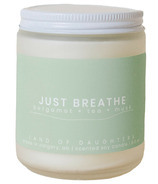 Land of Daughters Candle Just Breathe