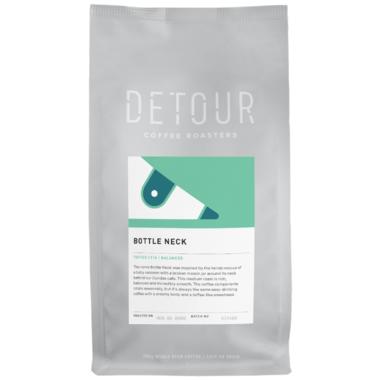 Detour Coffee Roasters Bottle Neck Medium Roast Whole Bean Coffee