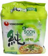 Soupe aux nouilles végétariennes de Nongshim Soon