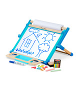 Melissa & Doug Double-Sided Magnetic Tabletop Easel
