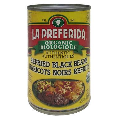La Preferida Organic Refried Black Beans