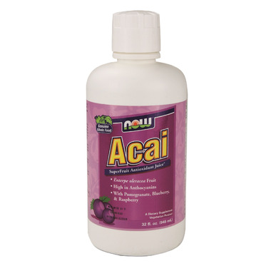 NOW Foods Acai Superfruit Antioxidant Juice