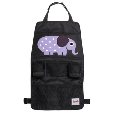 3 Sprouts Backseat Car Organizer Elephant