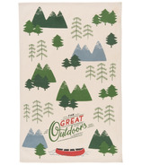Now Designs The Great Outdoors Print Tea Towel